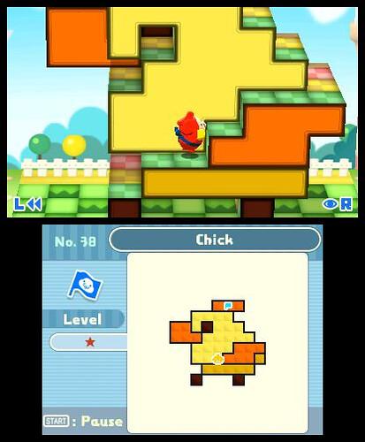 Pushmo - gameplay
