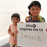 KLRU inspires me to... dance.