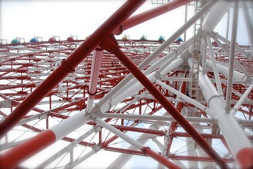 a big Ferris wheel