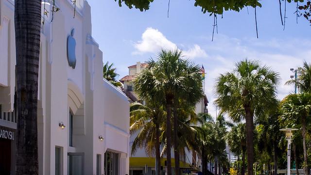 Apple Lincoln Road Miami Beach Fl Estacionamiento