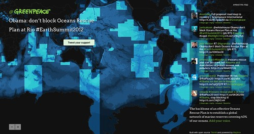 Mapping Greenpeace's Marine Reserve Network