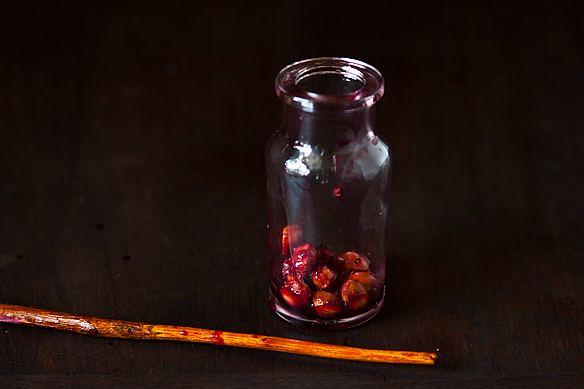 Pitting Cherries 5