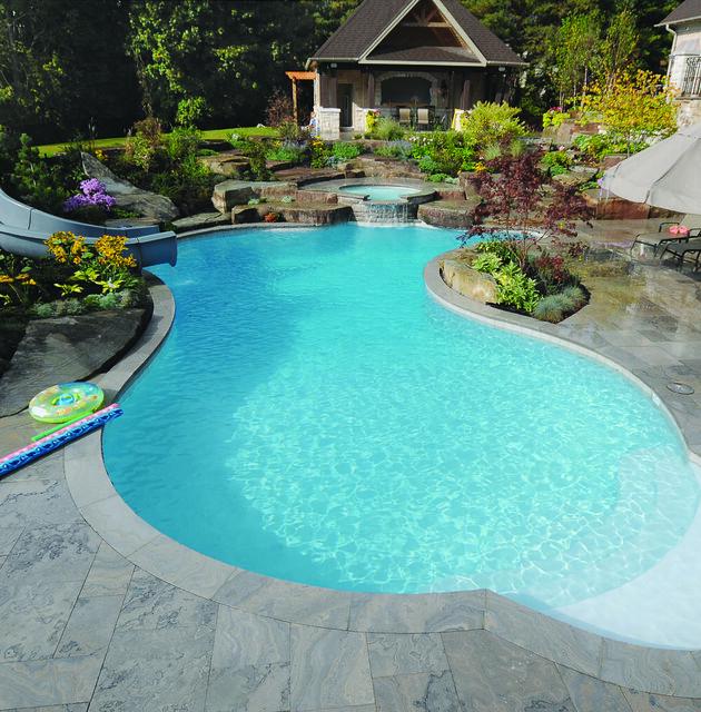 Gib san pools freeform family pool flickr photo sharing for Swimming pool design yorkshire