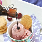 Roasted Cherry Ice Cream