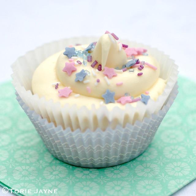 Gluten free Funfetti cupcake