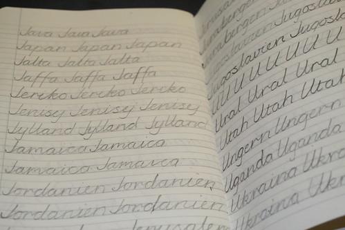 Handskrivning - mellanstadiet