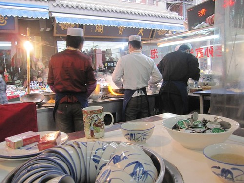 Street chefs in Xi'an