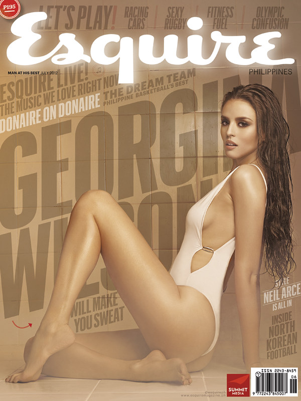 Georgina Wilson Esquire cover