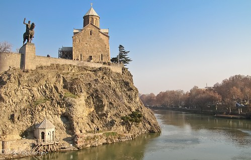 Maketi Church, Old Tbilisi, Georgia