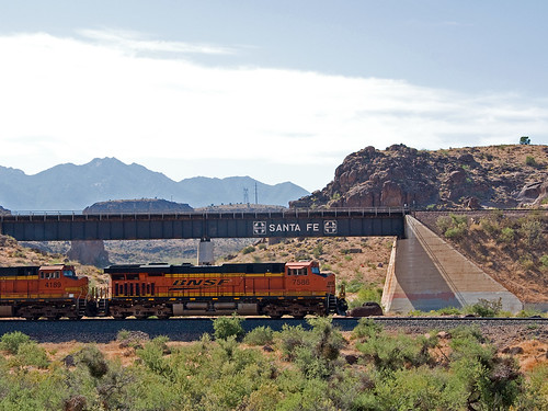 arizona santafe trains bnsf kingman highway66 kingmancanyon