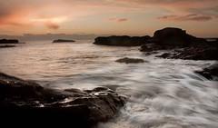 Arbroath coastline