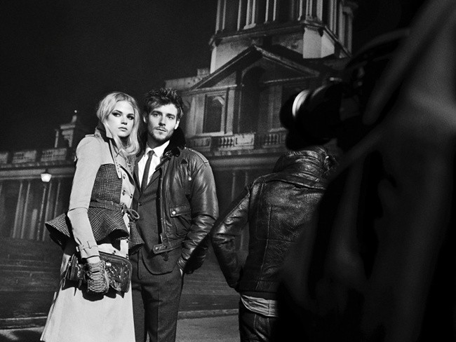 8 Behind the scenes at the Burberry AutumnWinter 2012 ad campaign