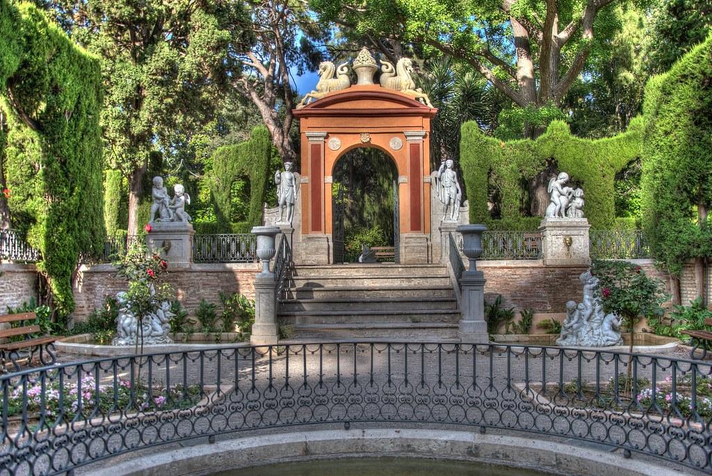 Jardines de monforte valencia hdr comunidad nikonistas for Jardines de monforte valencia
