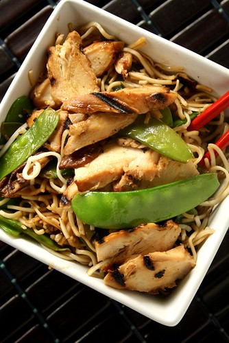 Grilled Chicken Noodle Salad