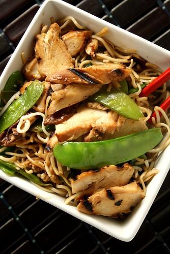 Grilled Chicken Noodle Salad