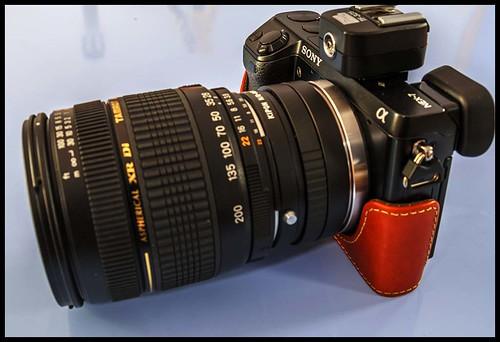 Sony NEX-7 plus Tamron 28-200mm zoom (Nikon fit)