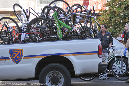 Stolen bikes at drug bust in Old Town-8