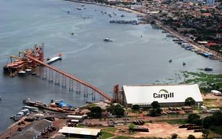 Porto da Cargill. Foto: Greenpeace