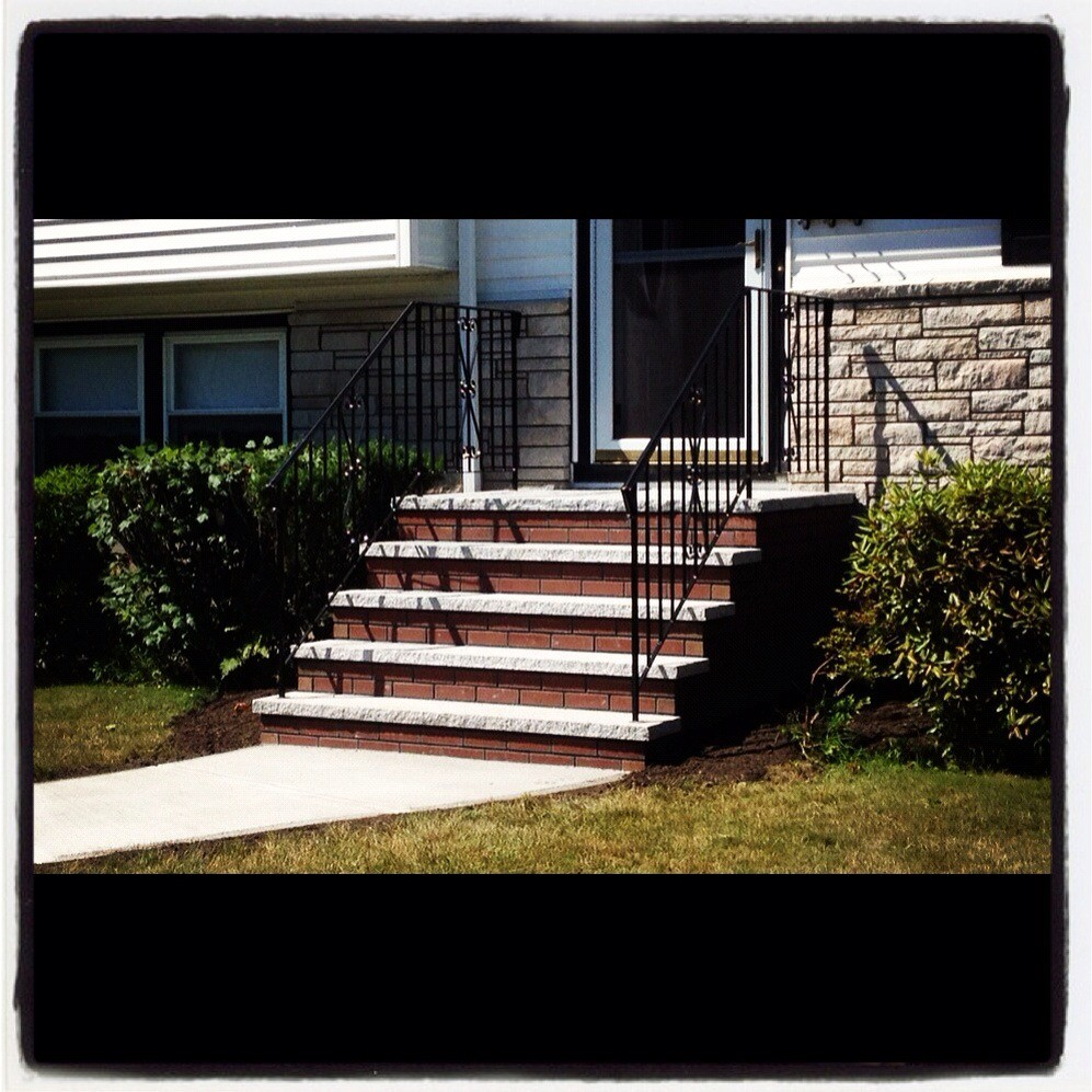 Stone Tread Stairs Means Precast