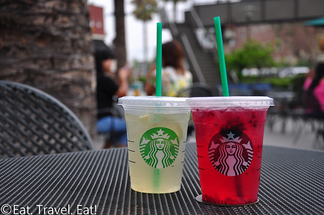 Starbucks Refreshers: Cool Lime and Very Berry Hibiscus (Tall Size)