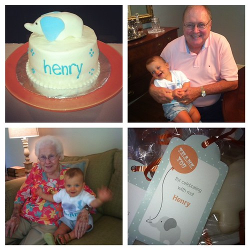 Henry's first birthday