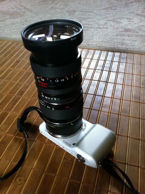 NEX-3 CONTAX Vario-Sonnar 28mm-70mm F3.5-4.5 + Mutar 1