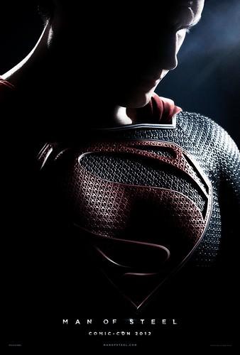 120716(2) - 預定2013/6/14首映的電影《鋼鐵英雄 Man of Steel》揭曉最新的宣傳海報!