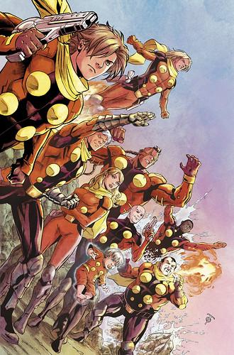 120716(3) - 經典漫畫《Cyborg 009》將重製為美國漫畫版,預定2013夏天在歐美地區正式推出!