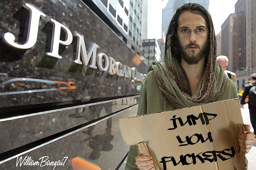 JESUS IN MANHATTAN