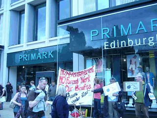 Primark Edinburgh - Anti Workfare Protest