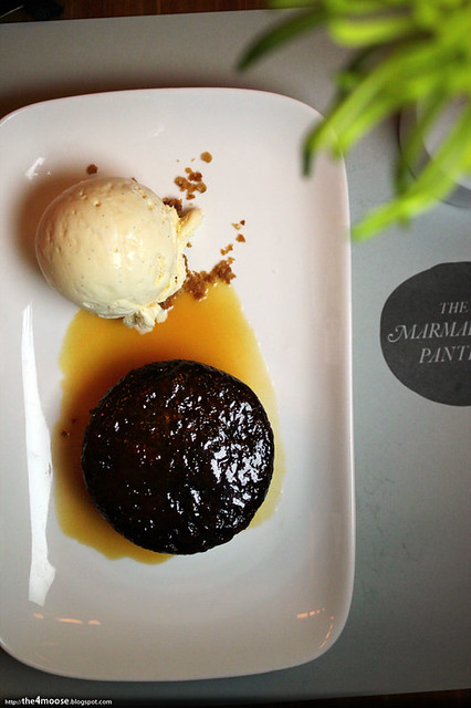 Marmalade Pantry @ Stables - Sticky Date and Toffee Pudding