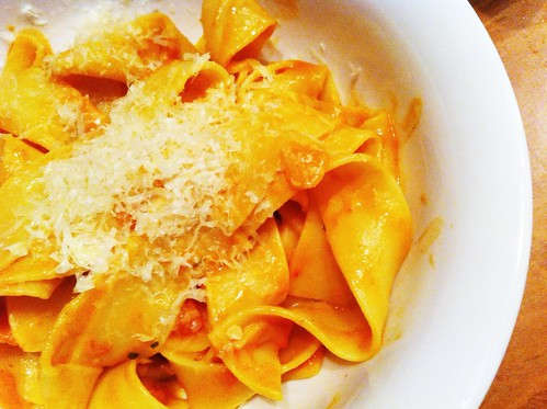 Wide Egg Noodle Pasta by mjd-s