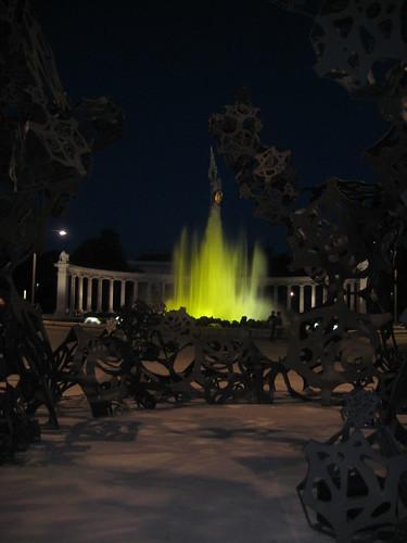 Fountain @ Schwarzenberg Platz