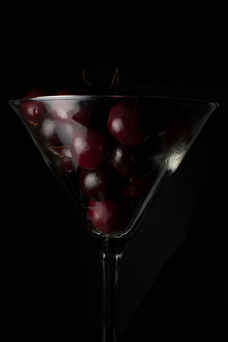 Cherry Martini (Dark field)