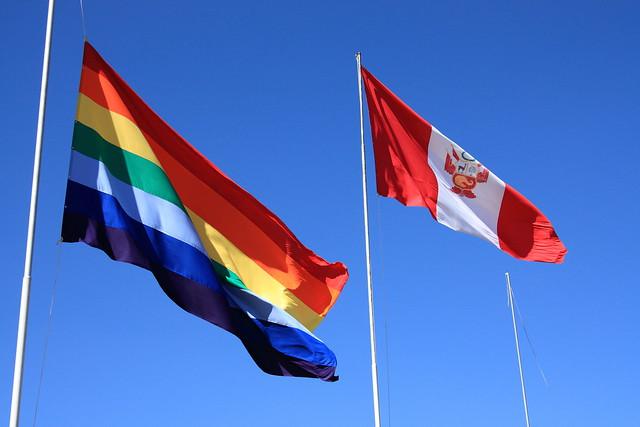 Inca flag and Peru flag | Flickr - Photo Sharing!