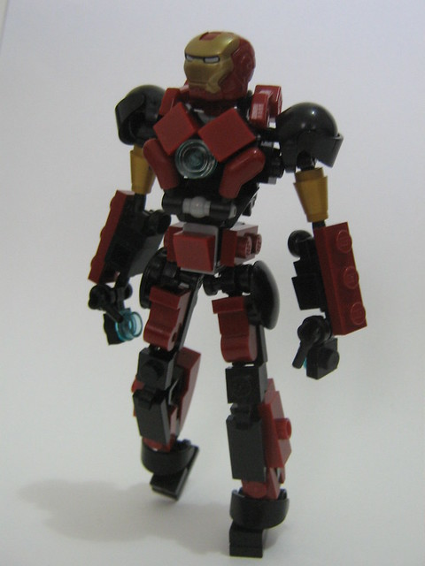 lego iron man mark 23 - photo #8