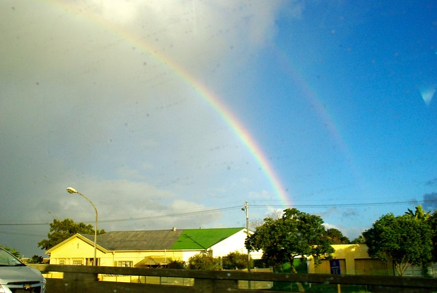 rainbow in south africa