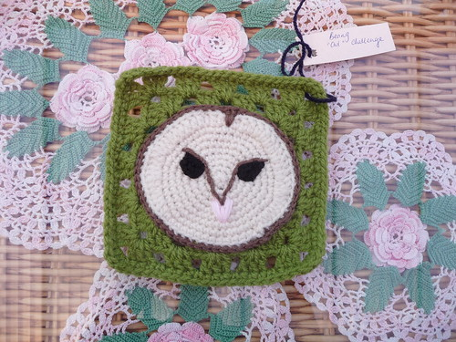 'Owl Challenge' Thank you Beang very much!