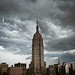 Storm over New York City by kriskoeller
