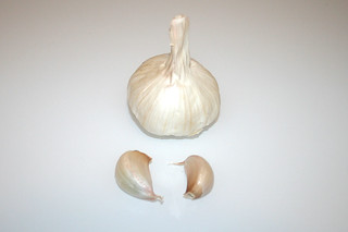 04 - Zutat Knoblauch / Ingredient garlic