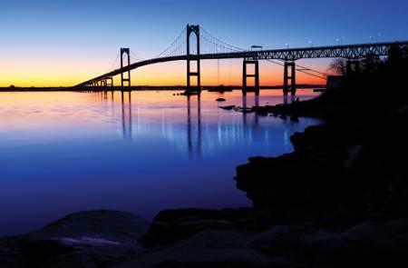 Pell Bridge by mary jane 43 via I {heart} Rhody