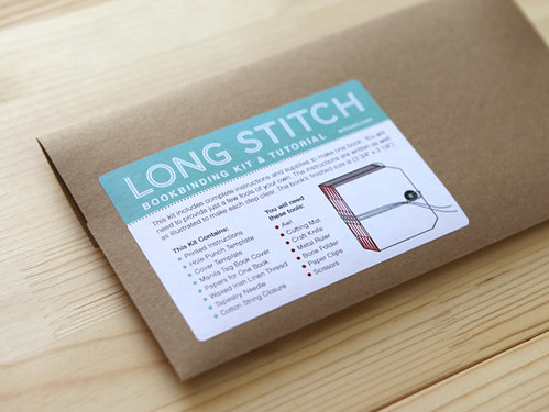 Long Stitch Book Binding Kit