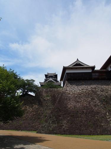 熊本城 天守閣と石垣