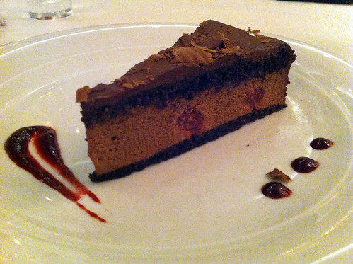 Norwegian Pearl - Chocolate Raspberry Truffle Cake