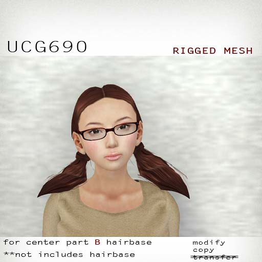 booN UCG690 hair