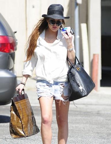 Lindsay Lohan Paparazzi