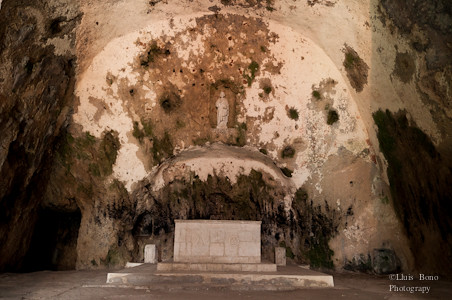 Altar de l'església de Sant Pere