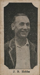 Morrows Dinkum Sports Cricketers 1929 - Jack Hobbs