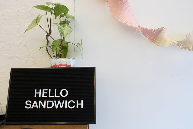 hello sandwich - hello paper workshop #1