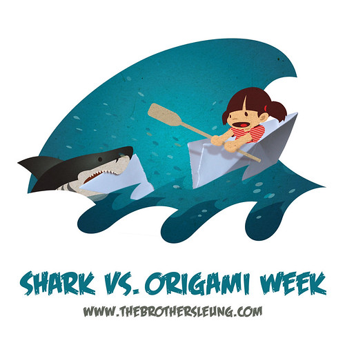 Shark vs. Origami Week